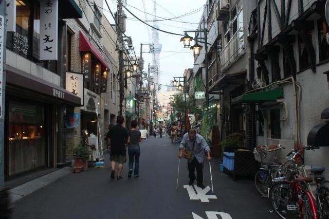 A street in Asakusa
