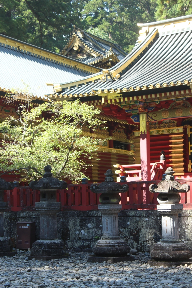 """And a majestic marriage of nature and human design in Nikko, which can be translated to mean """"sunshine."""""""