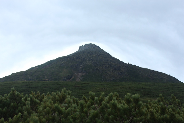 Mount Rausu, a day's climb that started and ended with a bear sighting.